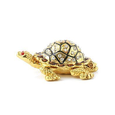 Cute Little Turtle Trinket Box