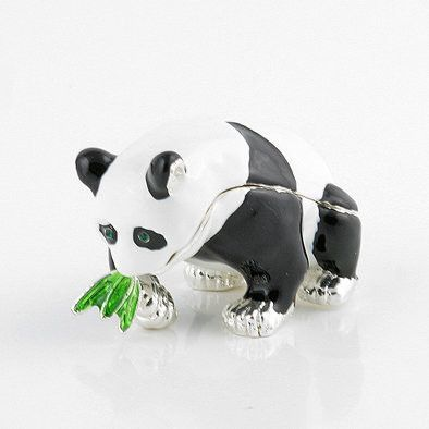 Happy Panda Trinket Box