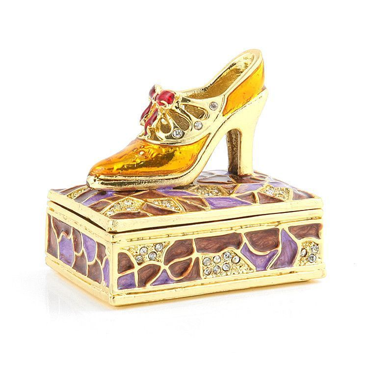 Fancy Shoe Trinket Box