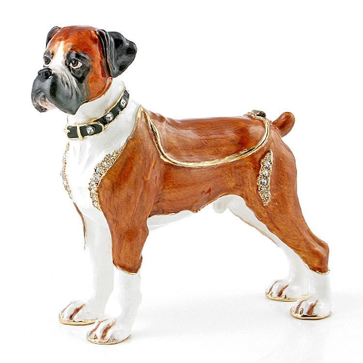 Handsome Boxer Trinket Box