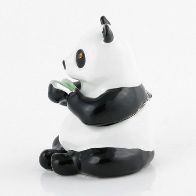 Charming Panda Bear Trinket Box