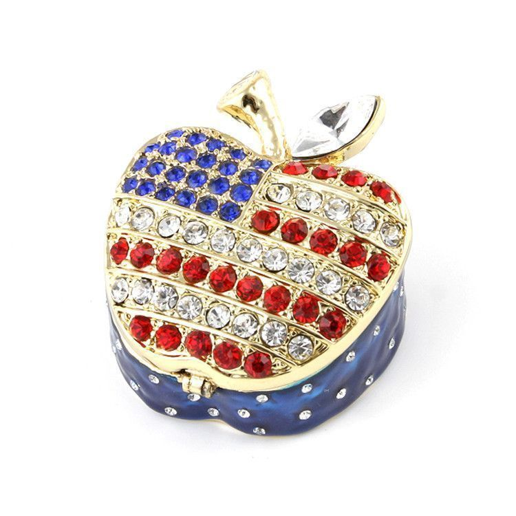 American Apple Trinket Box