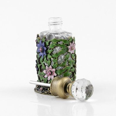 Ivy and Floral Perfume Bottle