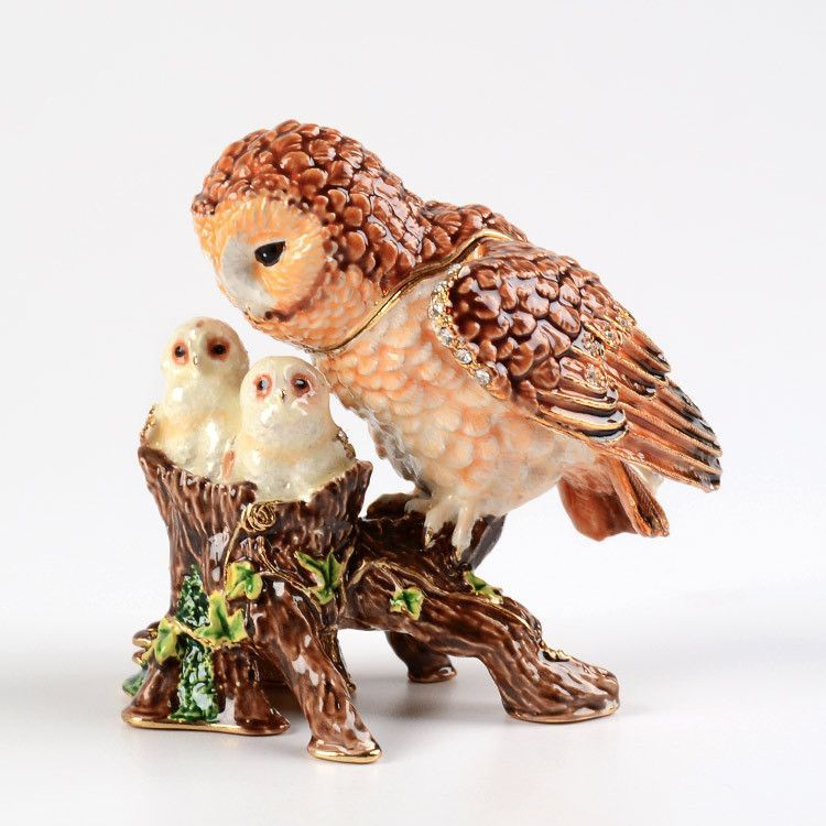 Owl Family Keepsake