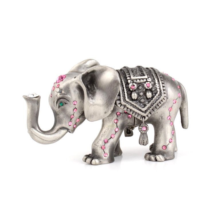 Lucky Elephant Trinket Box