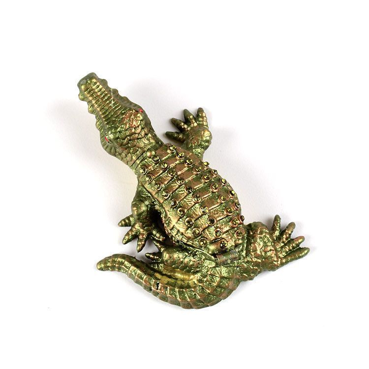 Mini Gator Figurine Box