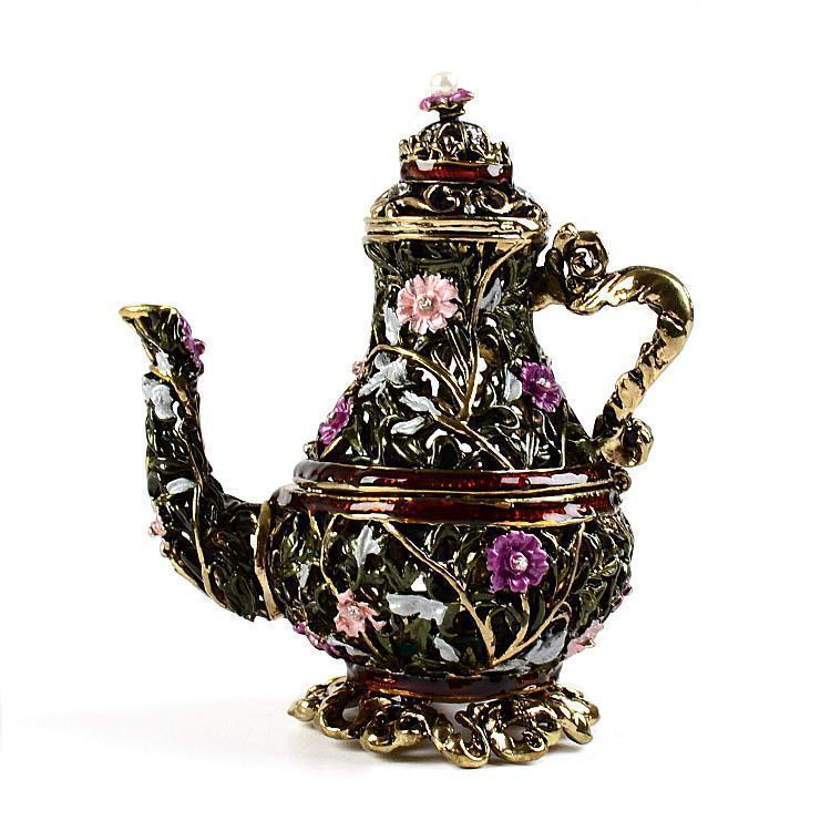 Tall and Fancy Teapot Trinket