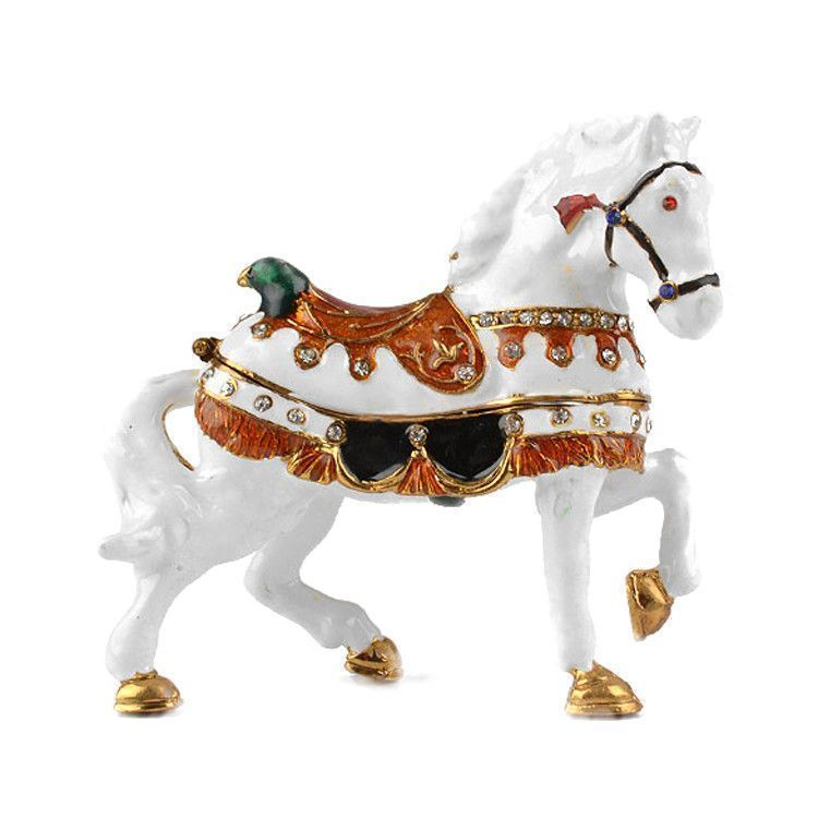 White Horse keepsake Box