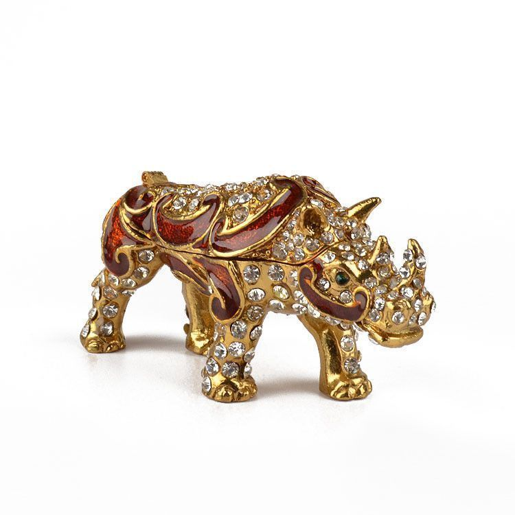 Golden Rhino Keepsake