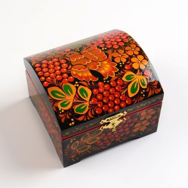 Berry Bird Jewelry Box