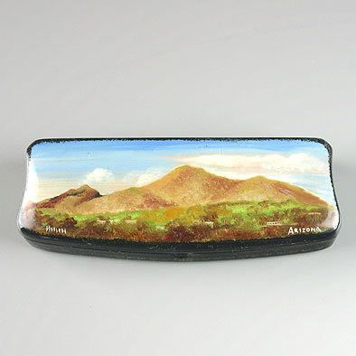 Arizona Camelback Mountain Lacquer Box