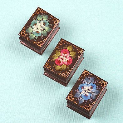 Set of Three Lacquer Boxes