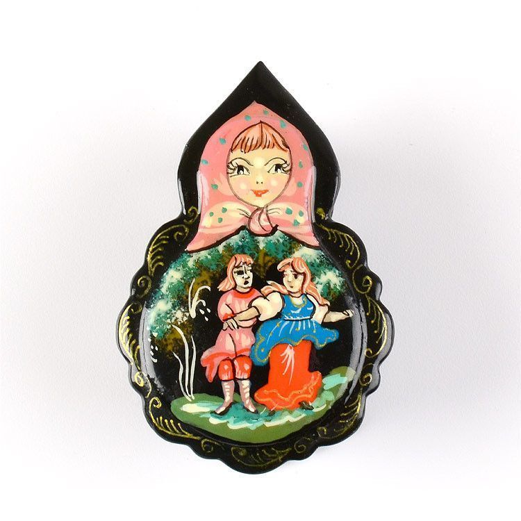 Cute Russian Lacquer Box