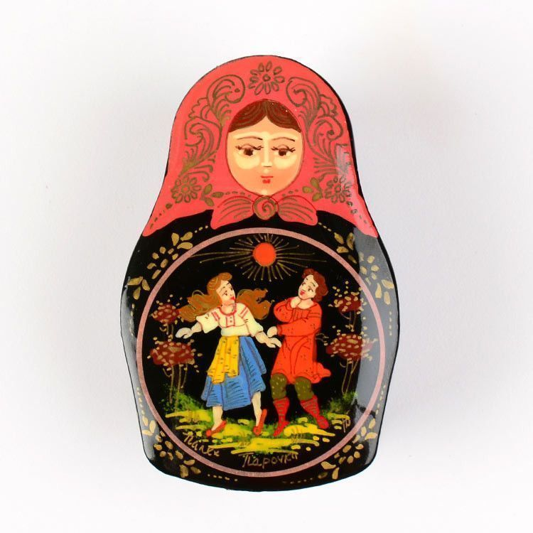 Couple in Love Lacquered Box