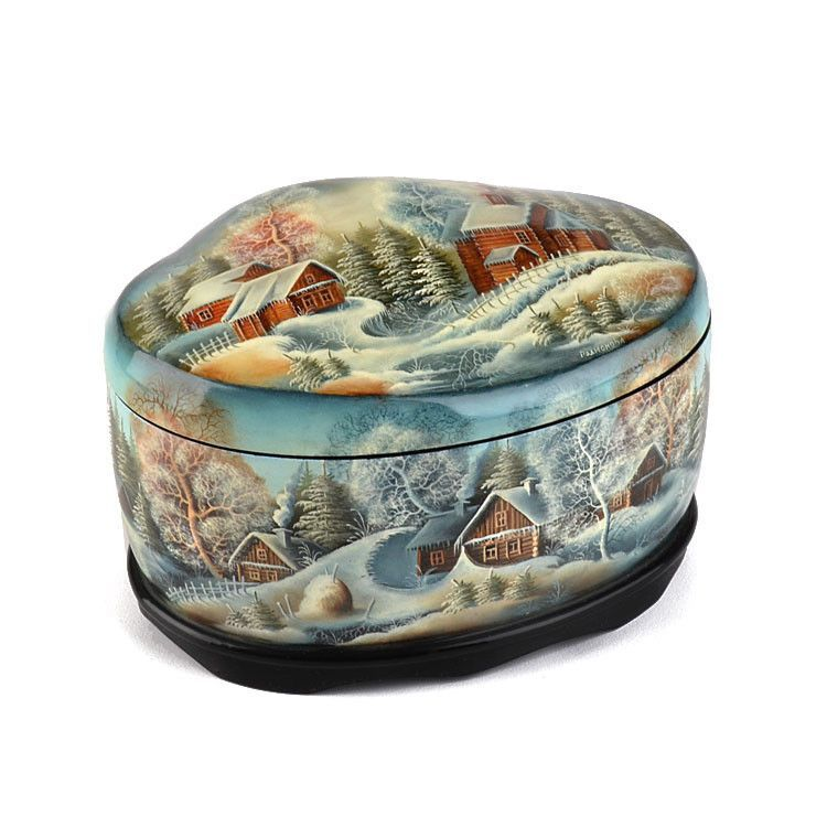 Extraordinary Abalone Shell Lacquer Box
