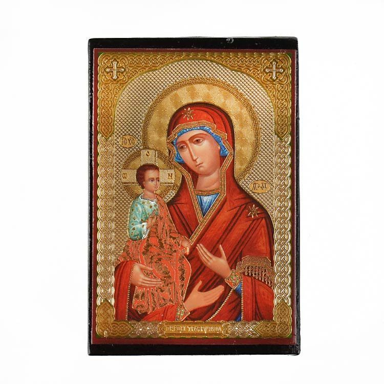 Theotokos With Three Hands Lacquer Box