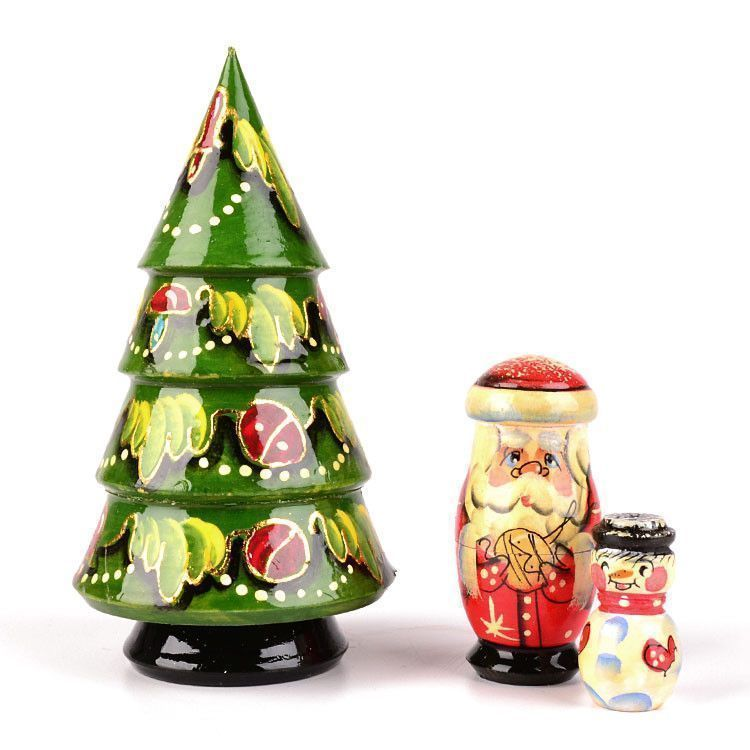 Cute 3 Piece Xmas Tree Doll