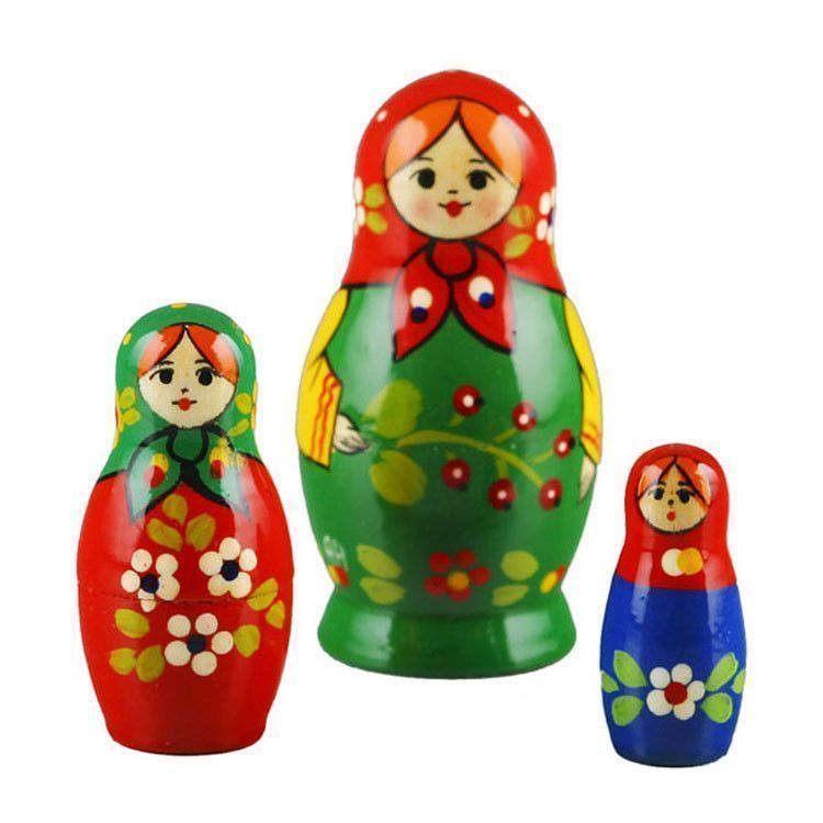 Little Three Sisters Babushka