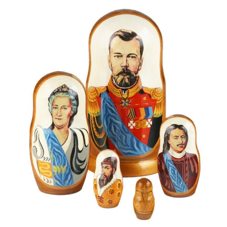 Emperors Of Russia Nesting Doll