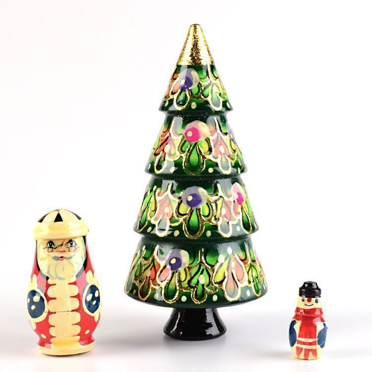 "4 1/2"" Tall Xmas Tree Doll"