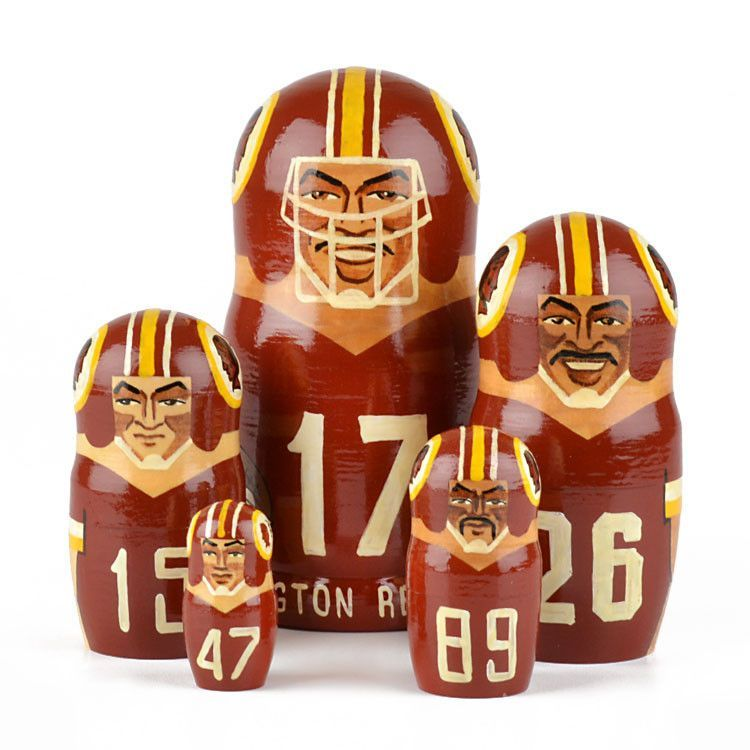 Washington Redskins Nested Dolls