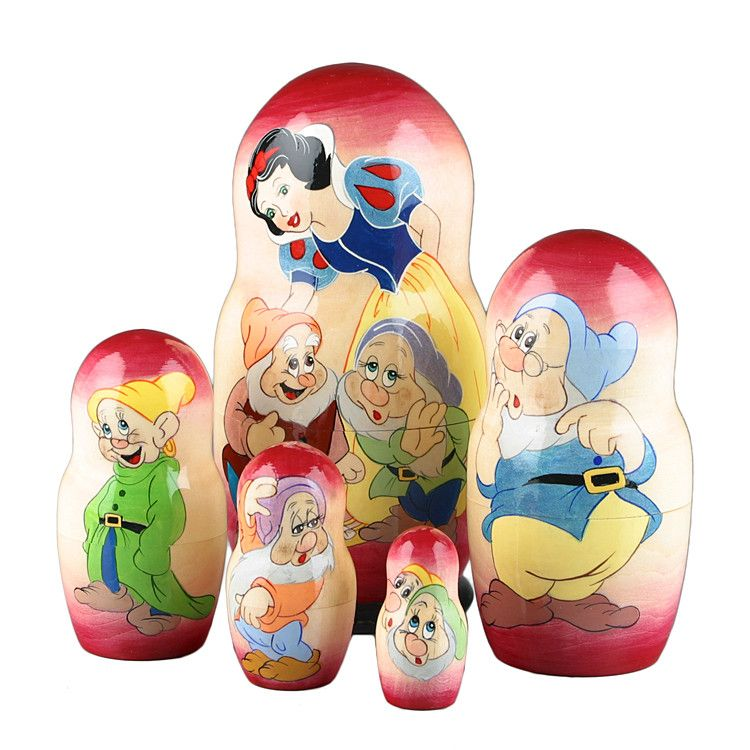 Snow White Russian Matryoshka