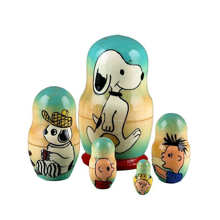 Snoopy & Friends Nesting Dolls