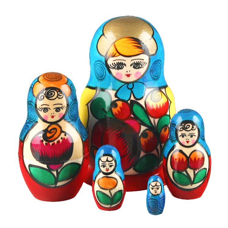 Flower Maiden Russian Matryoshka