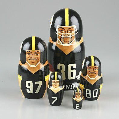 Pittsburgh Steelers Nesting Dolls