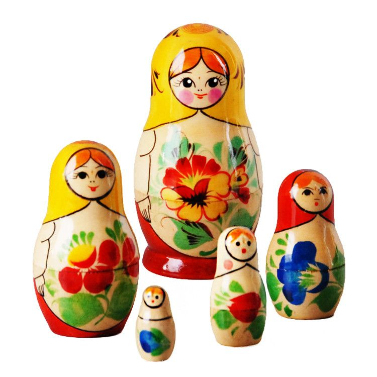 Summer Garden Little Matreshka