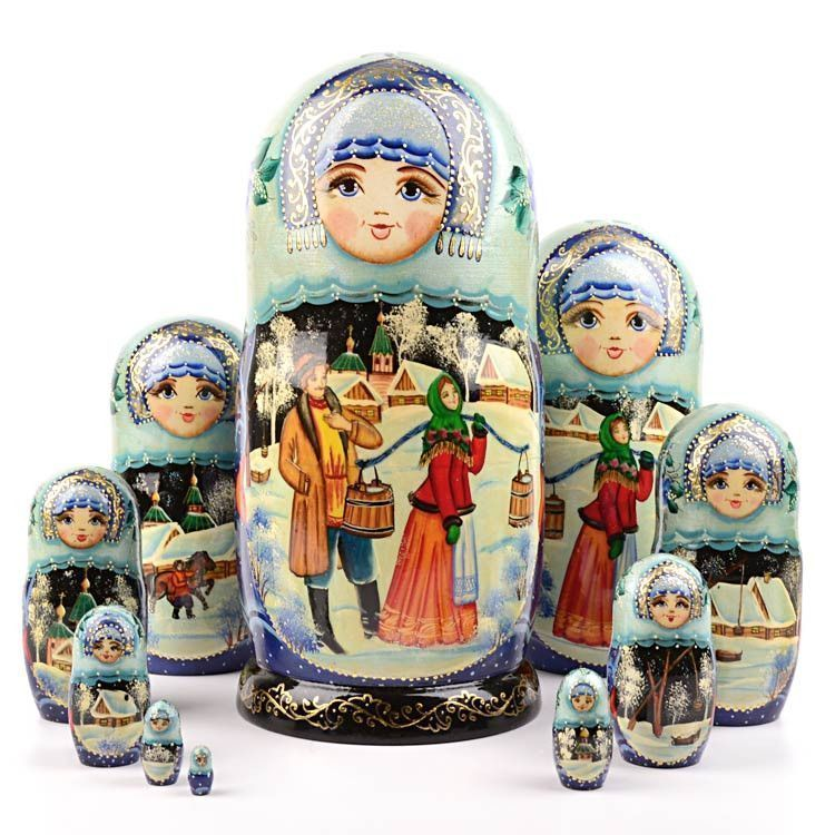 Love at First Sight Nesting Doll