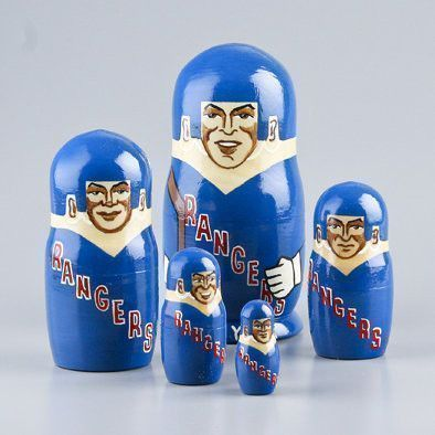 New York Rangers Nesting Dolls