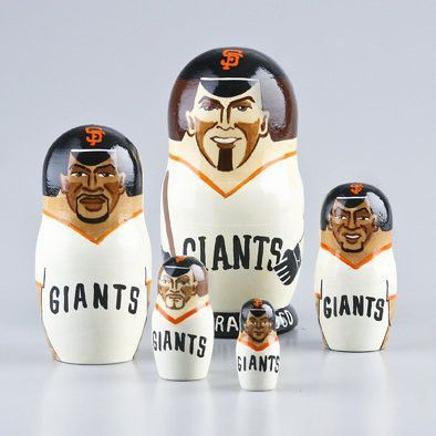 San Francisco Giants Nesting Dolls