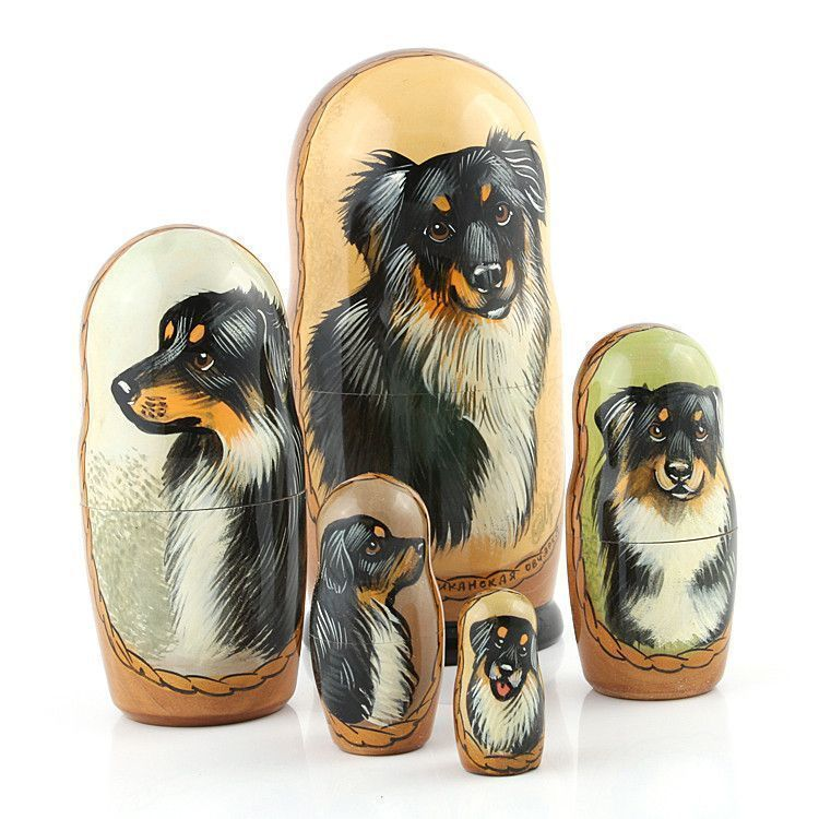 North American Shepherd Matreshka