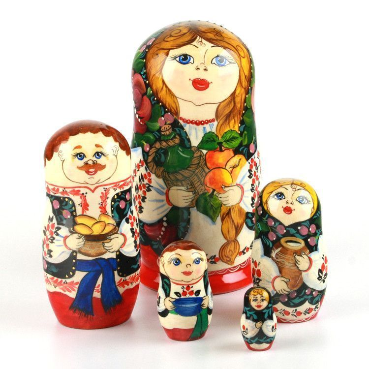 Farmer's Family Russian Babushka