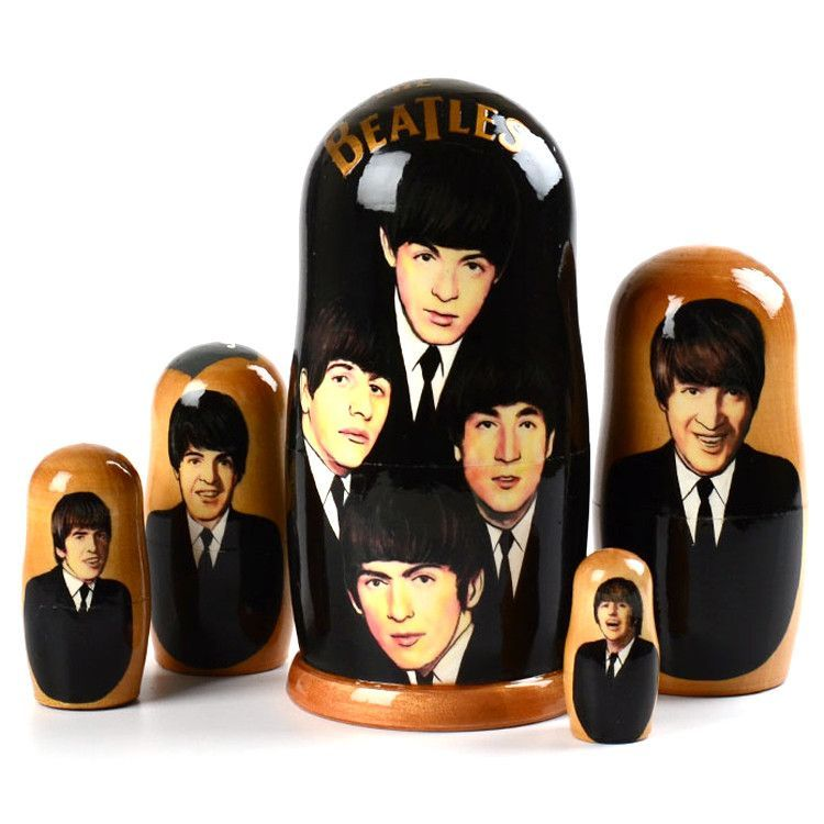 J. Lennon & The Beatles Matryoshka