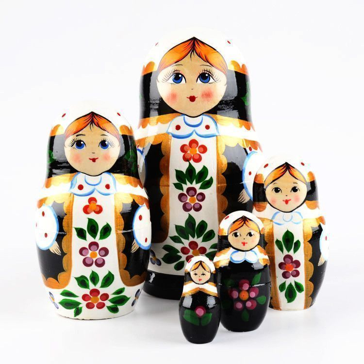 Striking Beauty Nesting Doll