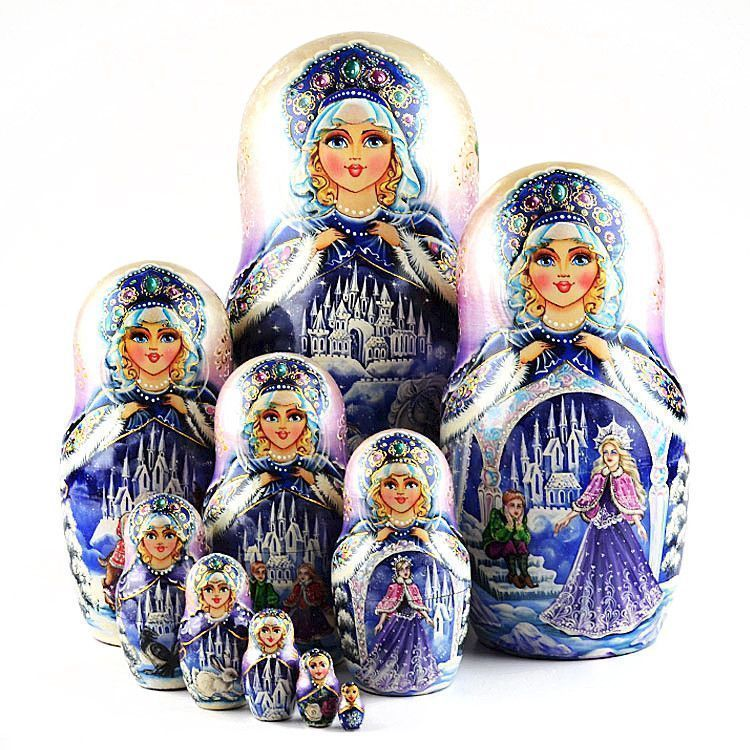 The Snow Queen Tale Matryoshka