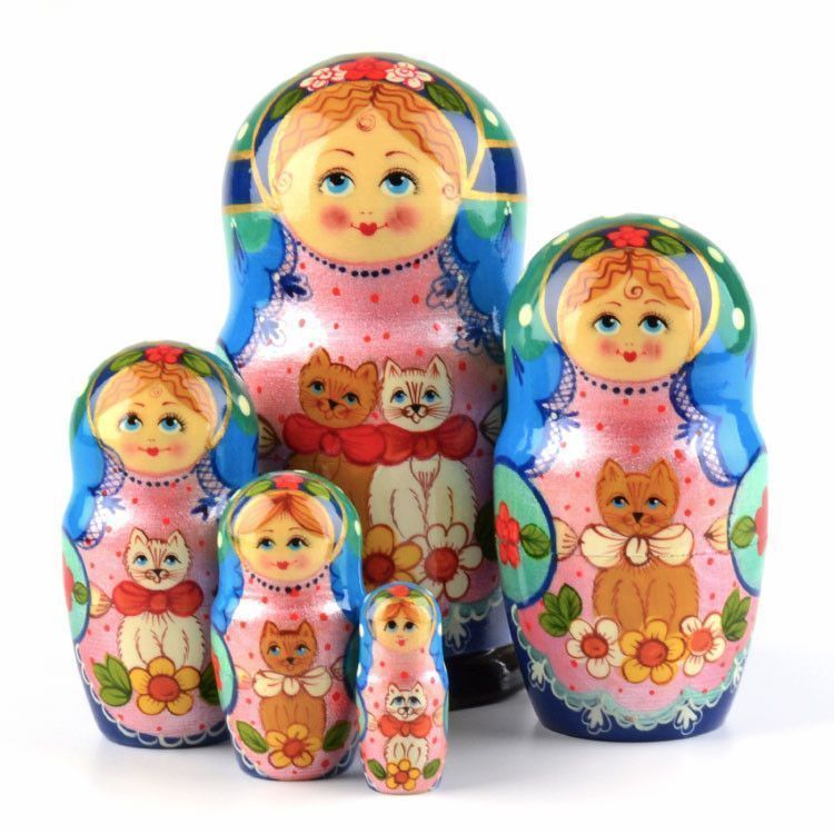 Matryoshka with Cats