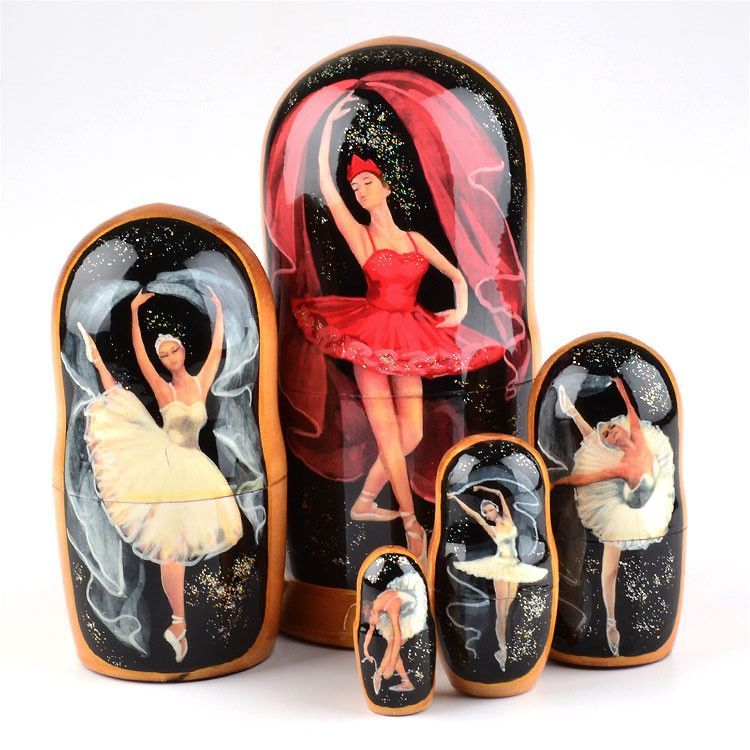 Ballerina Beauty Nesting Doll