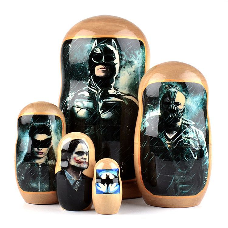 Batman Russian Matryoshka