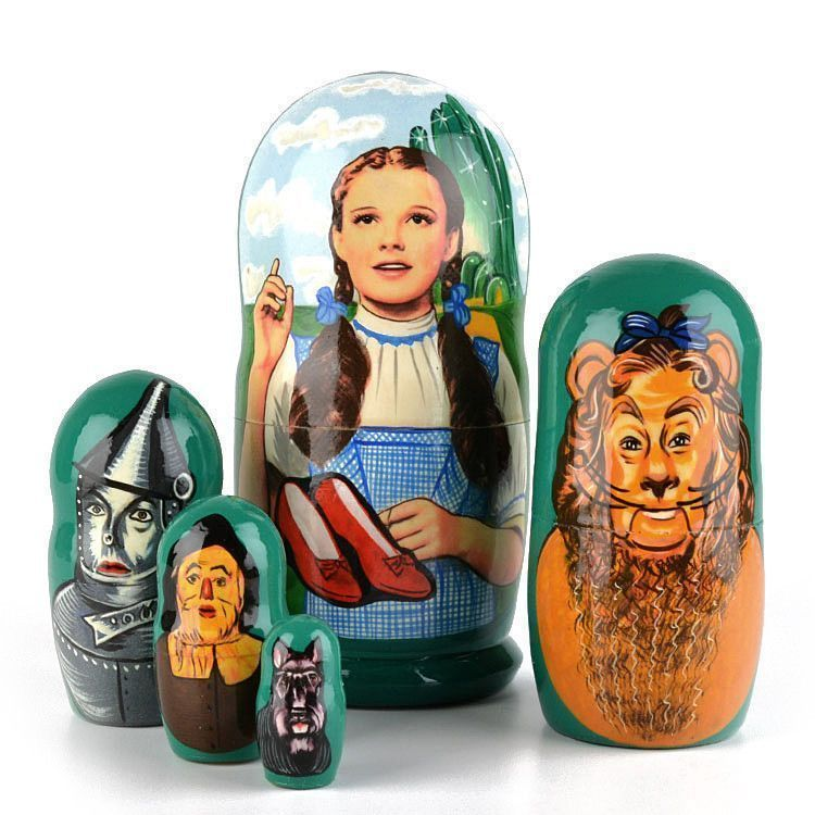 Wizard of OZ Matryoshka