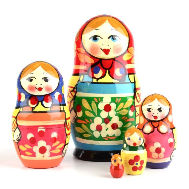 Green Apron Matryoshka