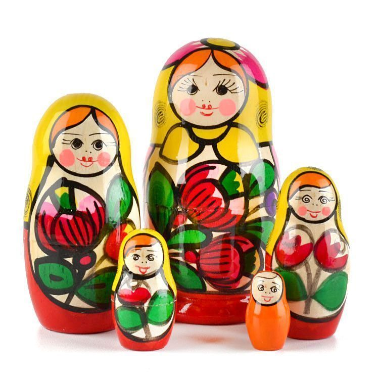 Maiden Matryoshka from Russia