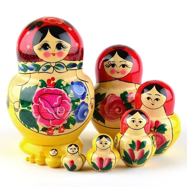 Traditional Semyonov Matryoshka Doll
