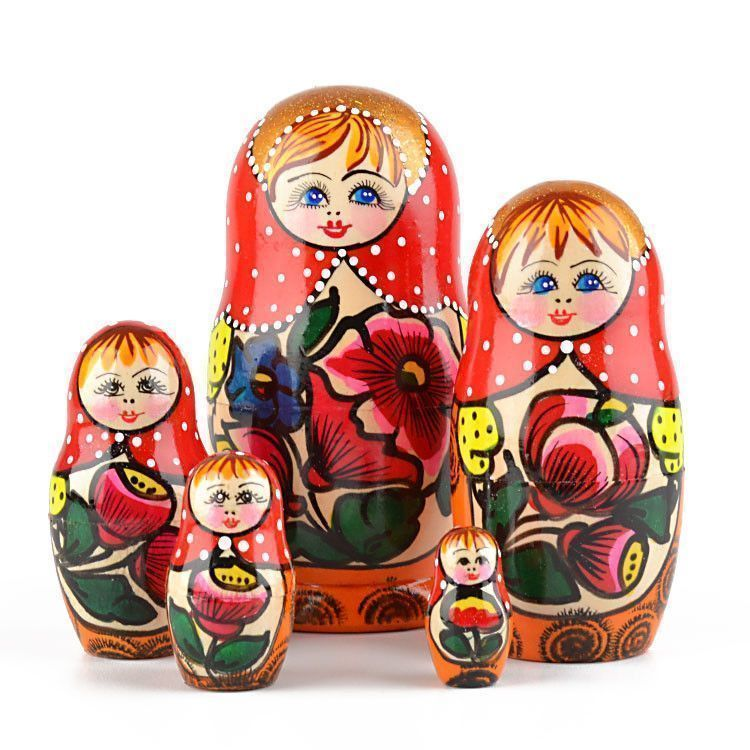 Russian Maiden Nesting Doll