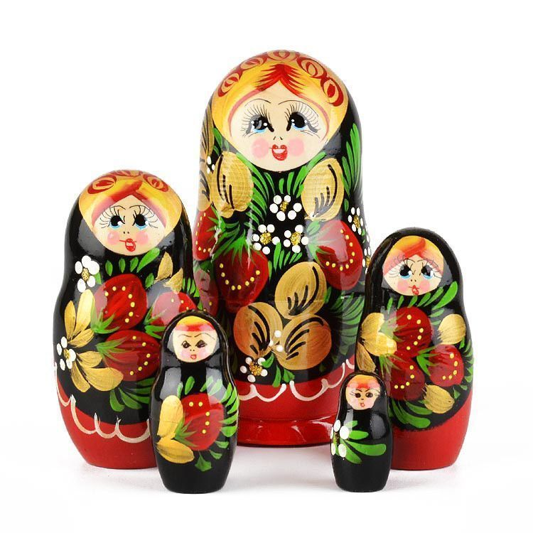 Red Berry Girl Matryoshka