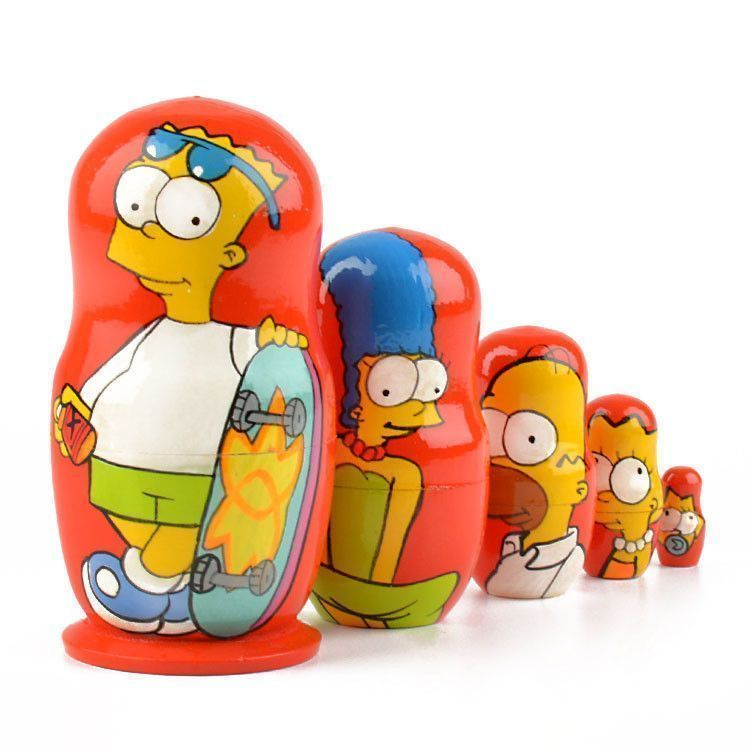 Bart Simpson Matryoshka