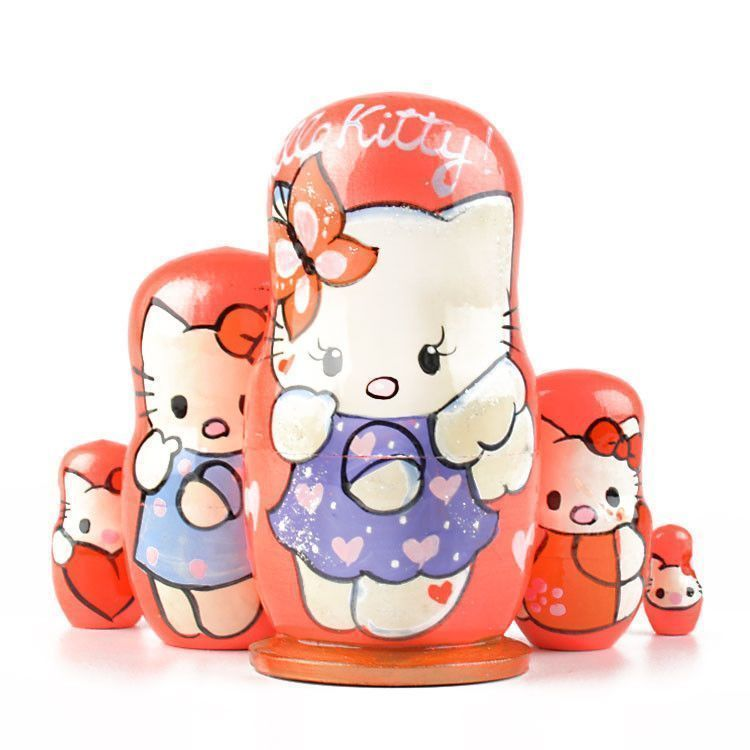 Small Hello Kitty Babushka