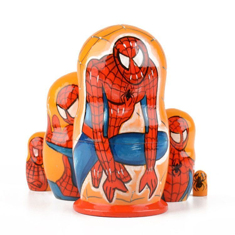 Nesting Doll Spider Man